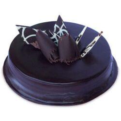 Chocolate Truffle Royale cake