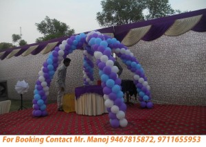 balloon decorator in gurgaon