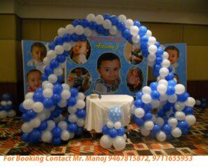 balloon decorator in gurgaon
