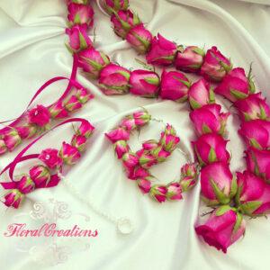 Flower Jewellery for Mehndi