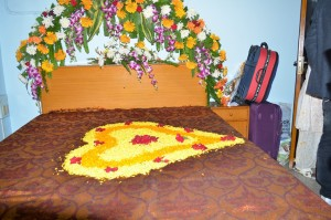 dulhan bedroom decoration