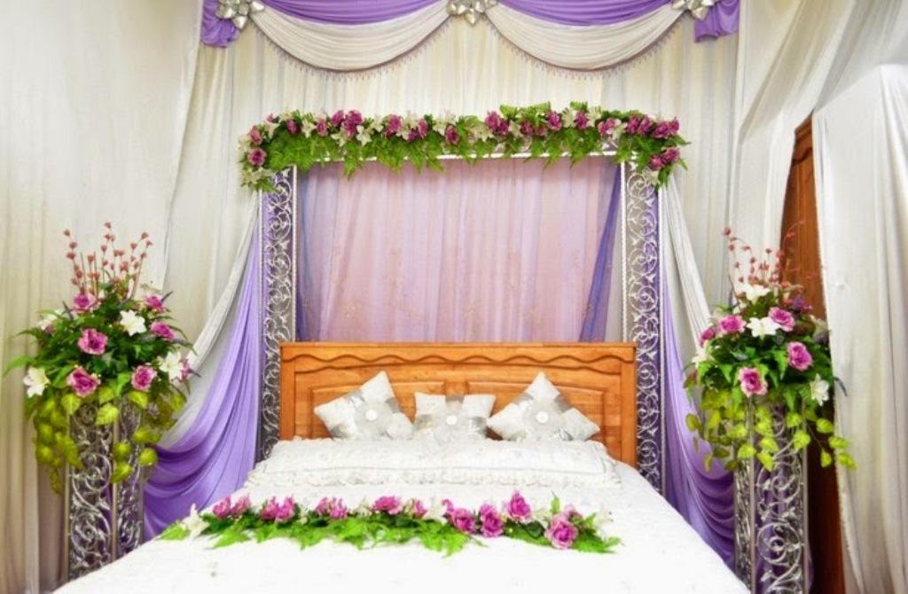 Bridal Bed Room Decoration For 1st Night Gurgaon Delhi ...