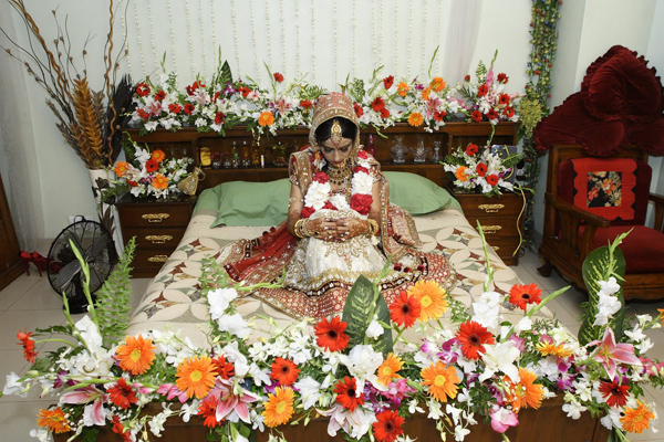 Bridal Bed Room Decoration 38 Flower N Petals