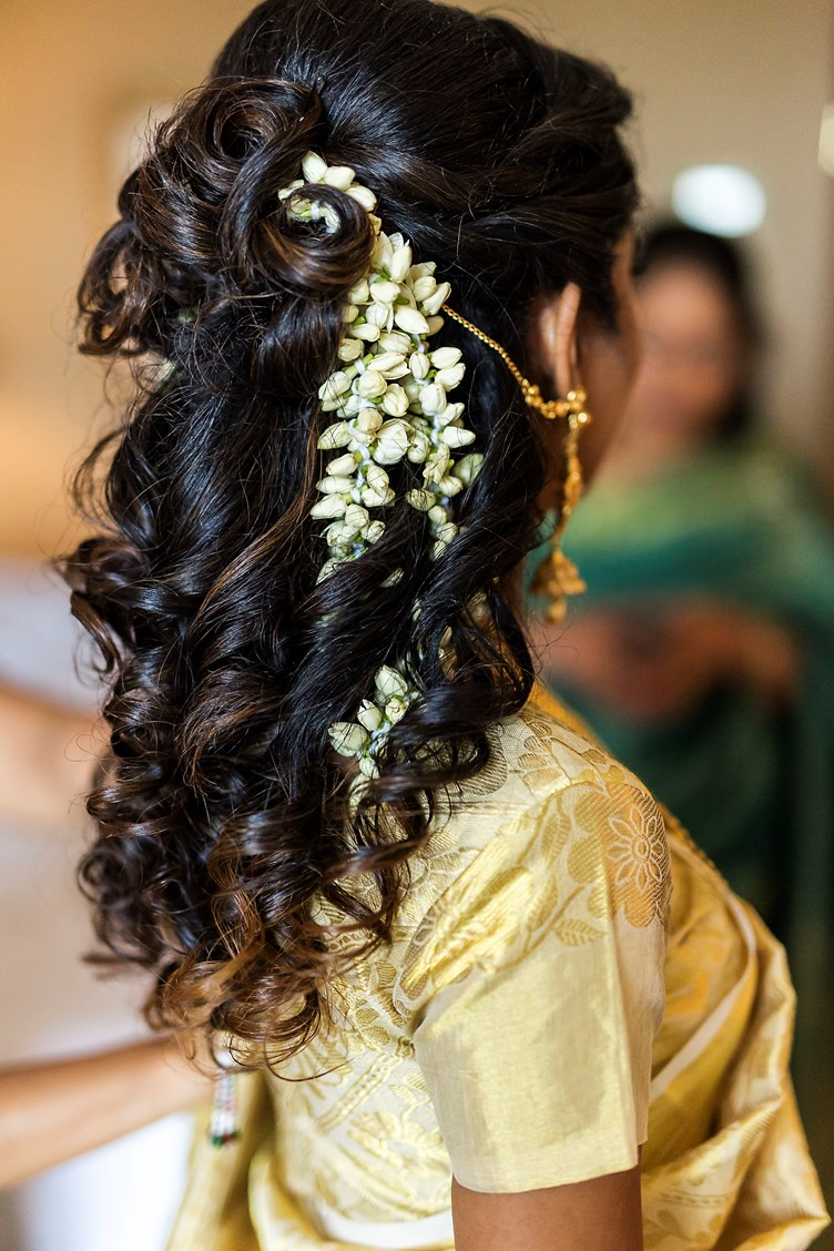 Long hair with jasmine flowers flower shop near me fresh jasmine gajra roses blue orchid mogra tiara izmirmasajfo