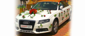 Wedding Car flower Decoration