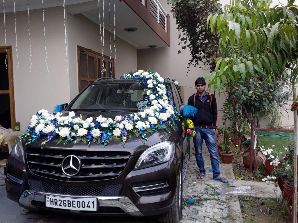 Wedding Car flower Decoration