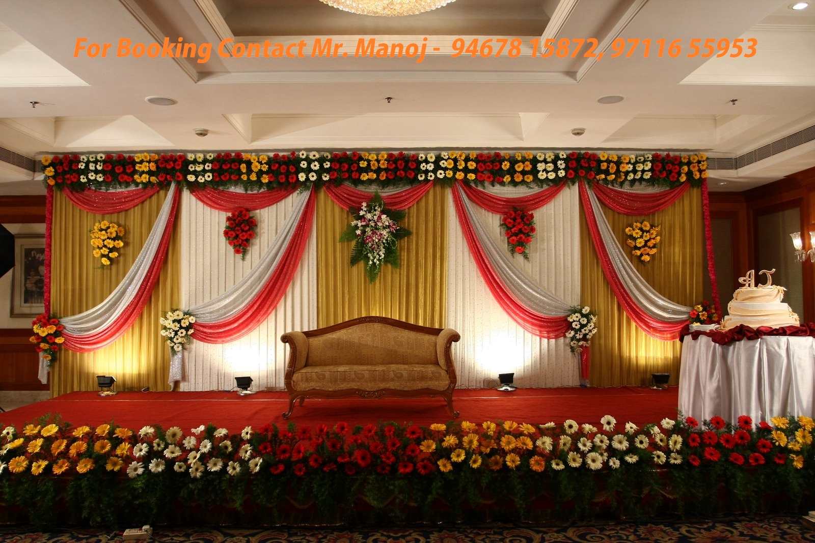 Wedding Flower decorations