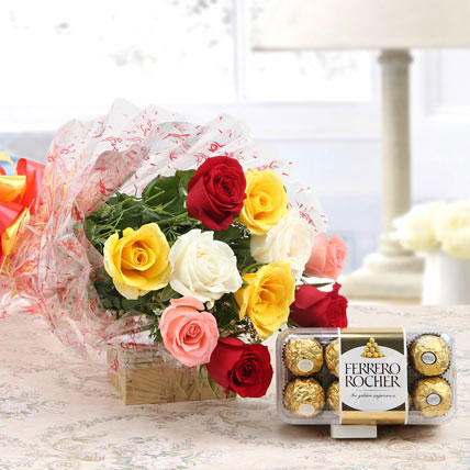 mixed-roses-and-rocher-combo