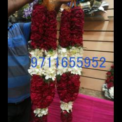 rose and orchid wedding garland jaimala varmala haar copy copy