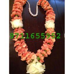 pink carnation jaimala , pink varmala haar garland, pink and white flower garland haar for wedding, pink flower jaimala for marriage, pink varmala, pink flower haar for marriage