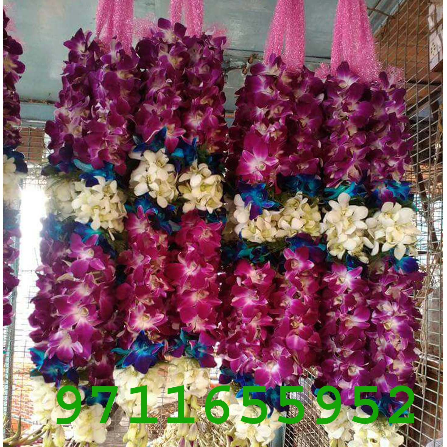 Purple Orchid Jaimala Price Flower N Petals 9711655952